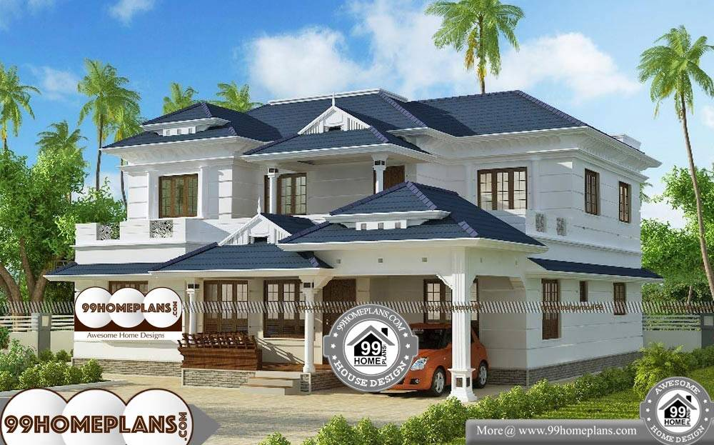 Kerala Model House Plans With Elevation With Modern New Concept Plans