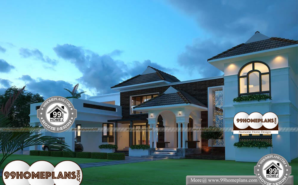 Low Cost Cottage Designs - 2 Story 3688 sqft-Home