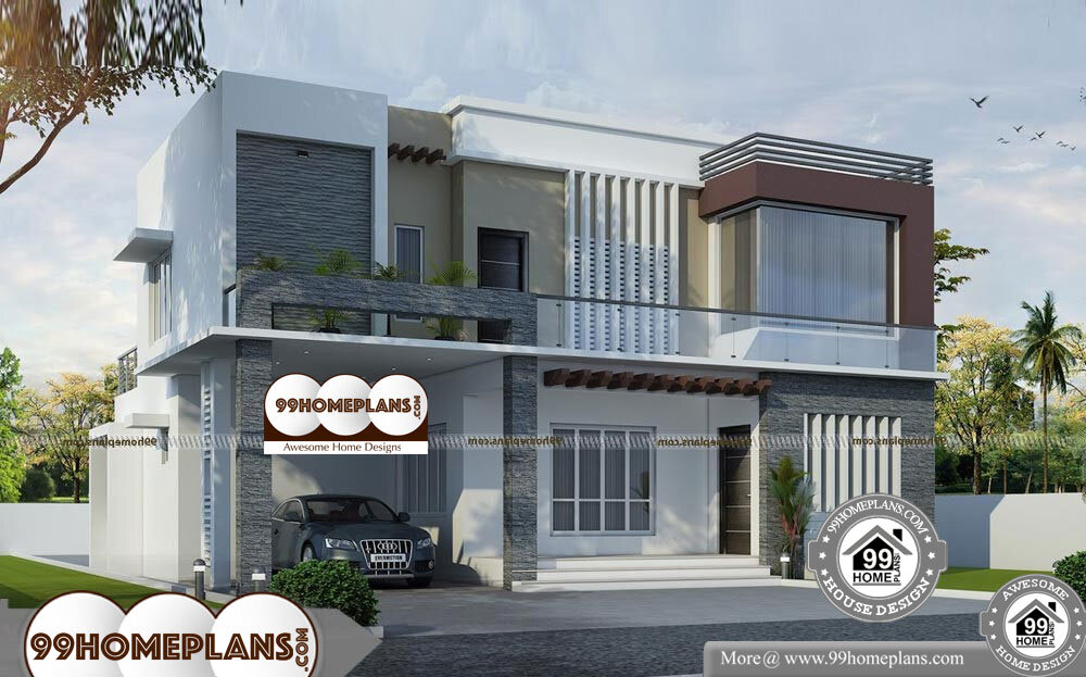 Luxury Ranch House Plans - 2 Story 2474 sqft-Home