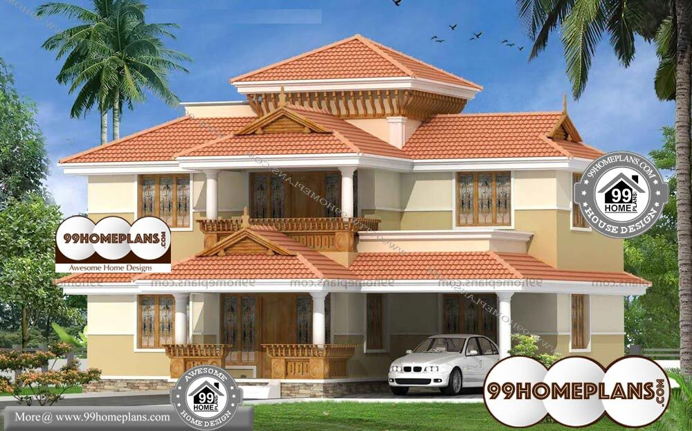 Modern Bungalow House Designs And Floor Plans - 2 Story 2060 sqft-Home