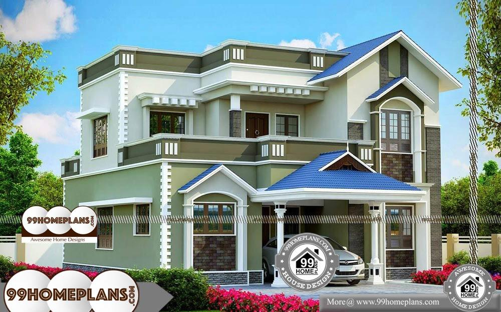 Modern Small House Designs And Floor Plans - 2 Story 2406 sqft-Home