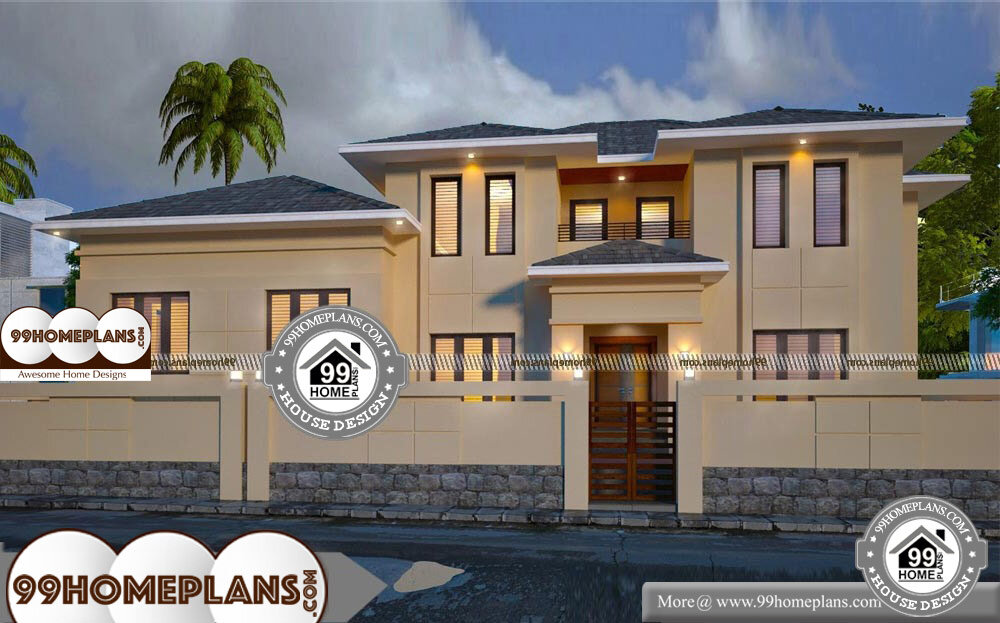 Old Fashioned Home Plans - 2 Story 3600 sqft-Home