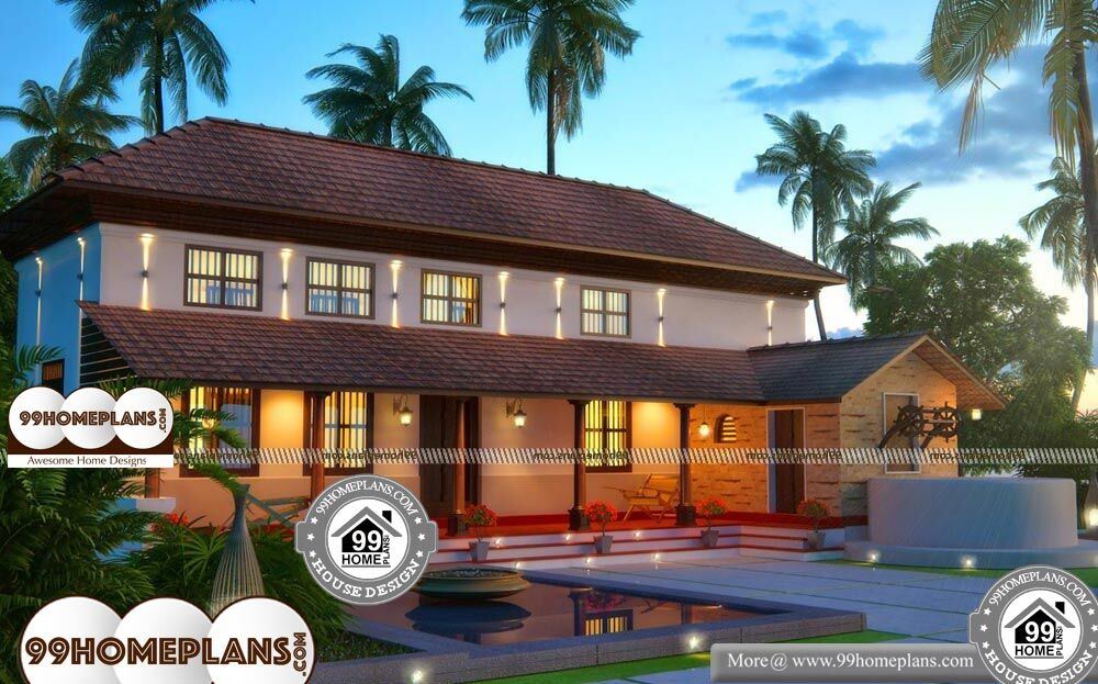 Old Home Plans - 2 Story 2500 sqft-Home