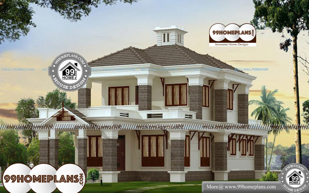 Online Indian House Plan Design - 2 Story 2300 sqft-Home