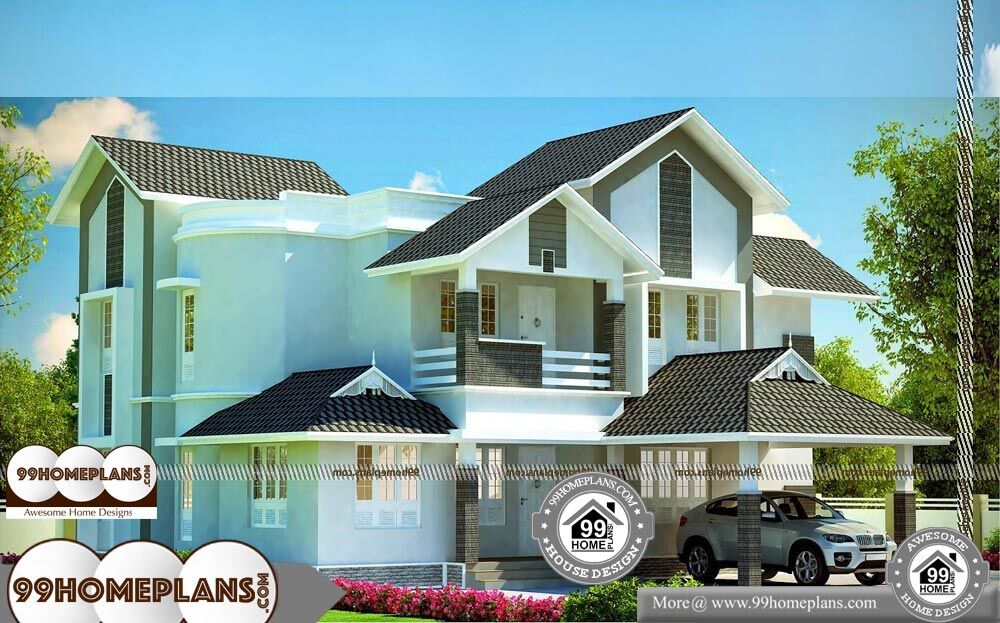 Small Modern House Plans With Loft - 2 Story 2789 sqft-Home