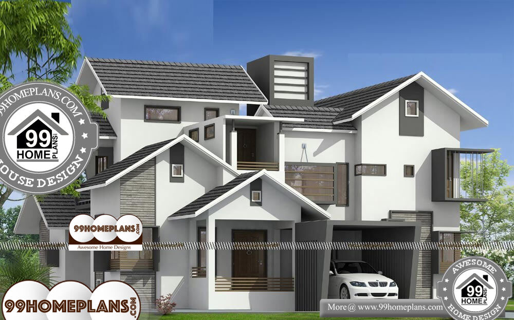Southern Traditional House Plans - 2 Story 2600 sqft-Home