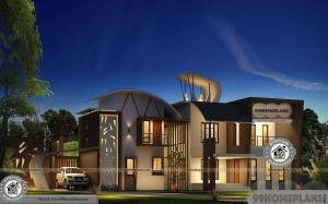 Architectural House Plans With Photos Double Floor Affordable Villa Plans