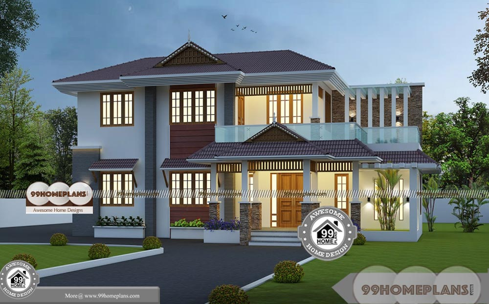 architectural styles of homes with house elevation and