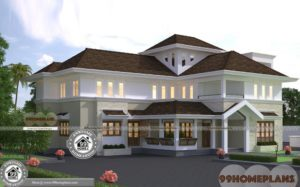 Award Winning House Plans Double Floor Huge Budget Plans of Bungalow