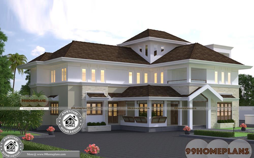 Award Winning House Plans Double Floor Huge Budget Plans