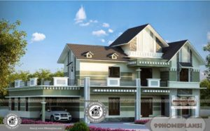 Bungalow House Design Layout with Traditional Kerala Style Home Plans