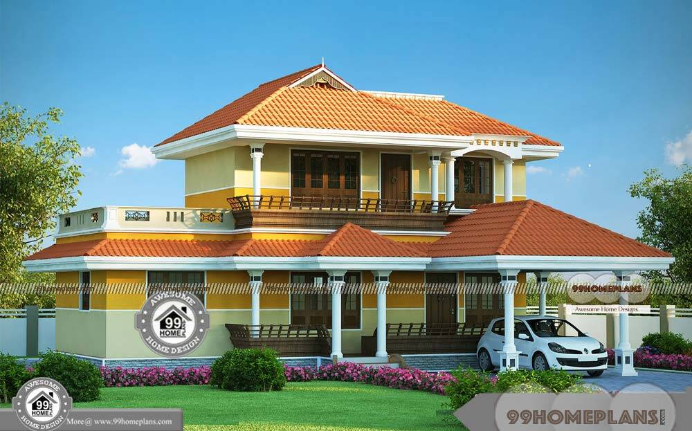 cheap two storey homes with traditional patterned house