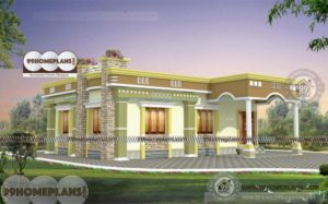 Contemporary House Plans In Kerala with Two Story Cute Bachelor Plans