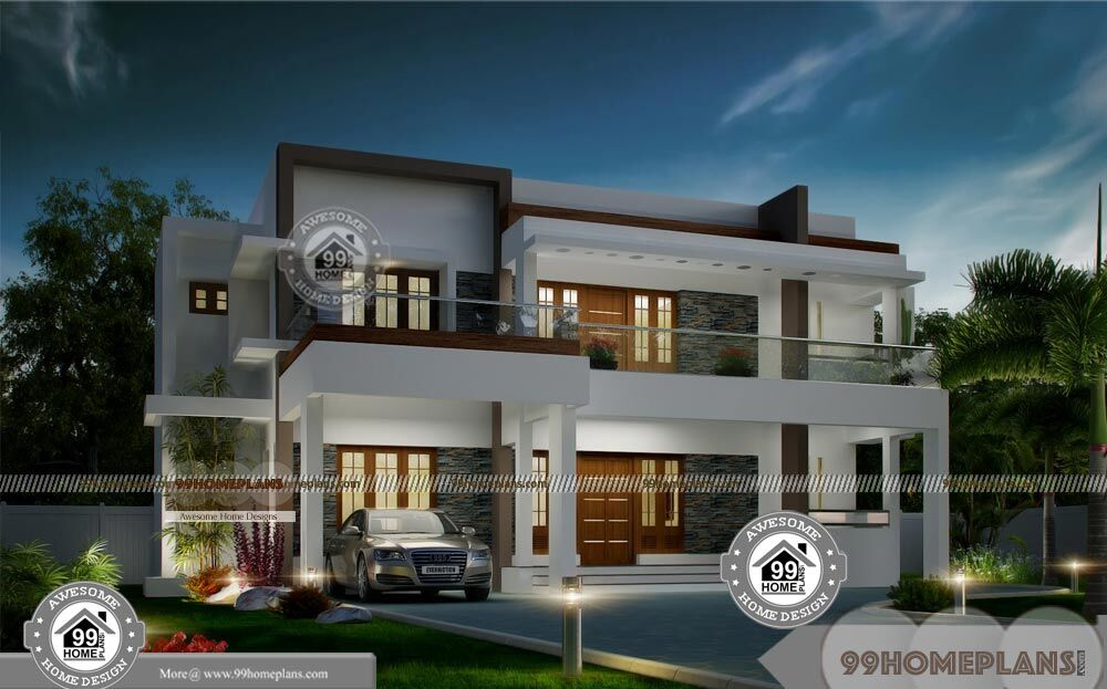 Cost effective home plans with contemporary luxurious home for Cost effective house plans