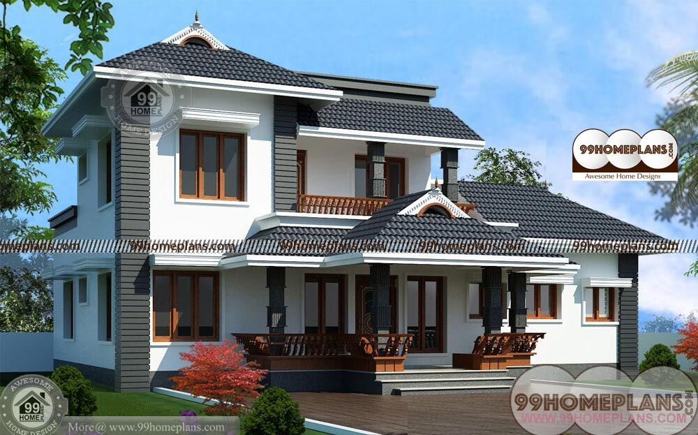 2 different 3d home elevations architecture house plans 4 for Different home designs