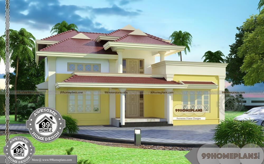 Different types of house plans double floor cute and for Types house designs