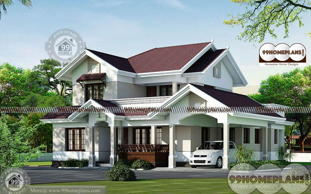 Dream House Floor Plans With New Balcony Concept