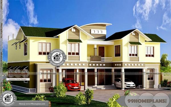 Duplex House Plans For Narrow Lots with Luxurious Grand Home Designs