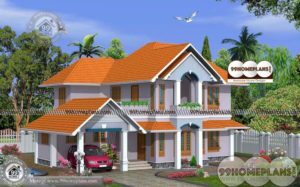 Exterior House Design with Modular Frontage Perfect Home Elevation Plan