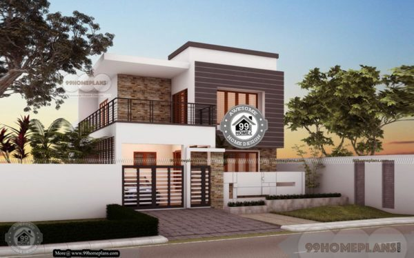Double Storey Bungalow Elevation : Floor plan bungalow with home structure elevation of