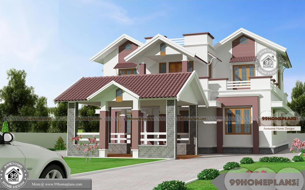 Four bedroom house plans two story unique variety plan for Unique 2 story house plans
