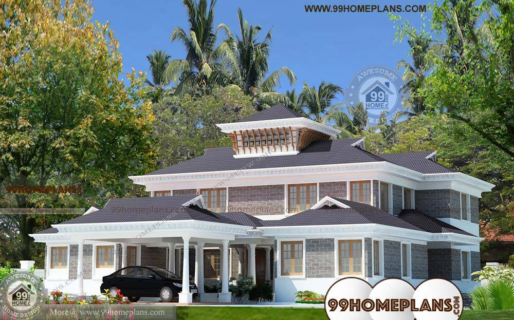 Front Design Of Small House In India Double Story Part - 37: Indian House Design