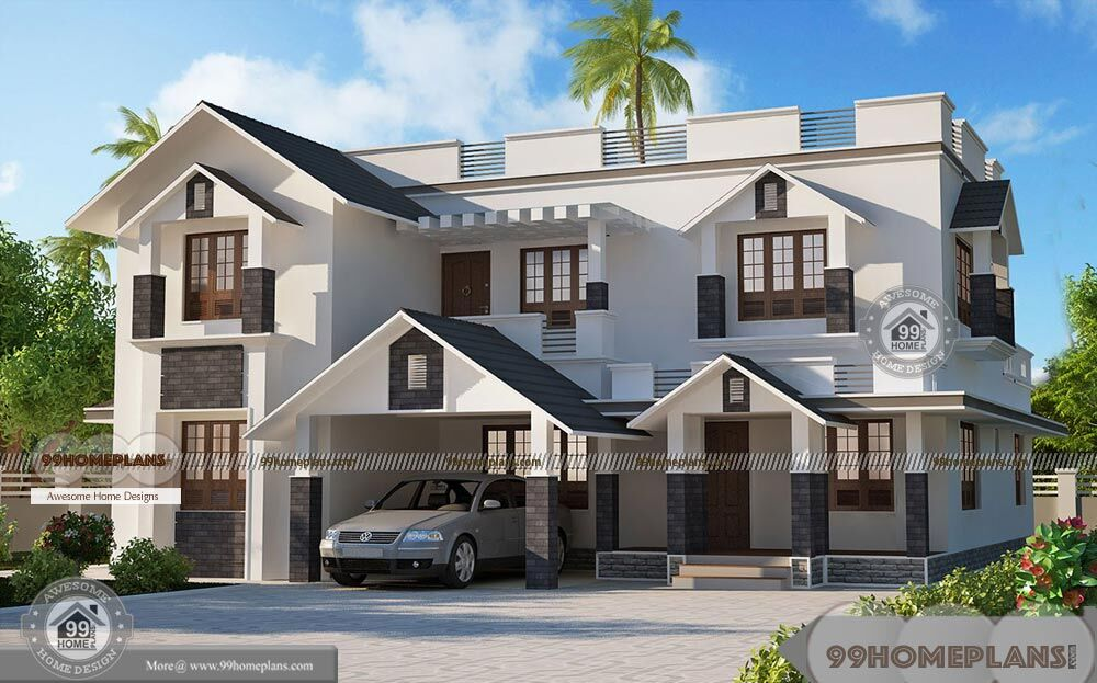 Home Designer And Architect with New Modern House Elevation - 2 Story