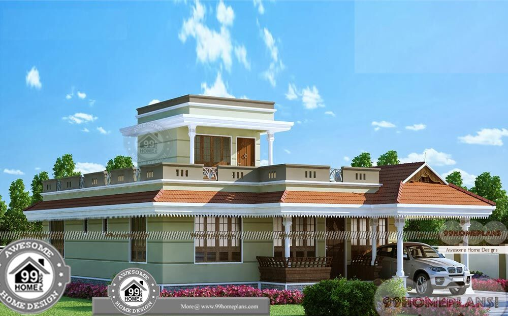 House Design Two Story In Kerala Residential Plans And