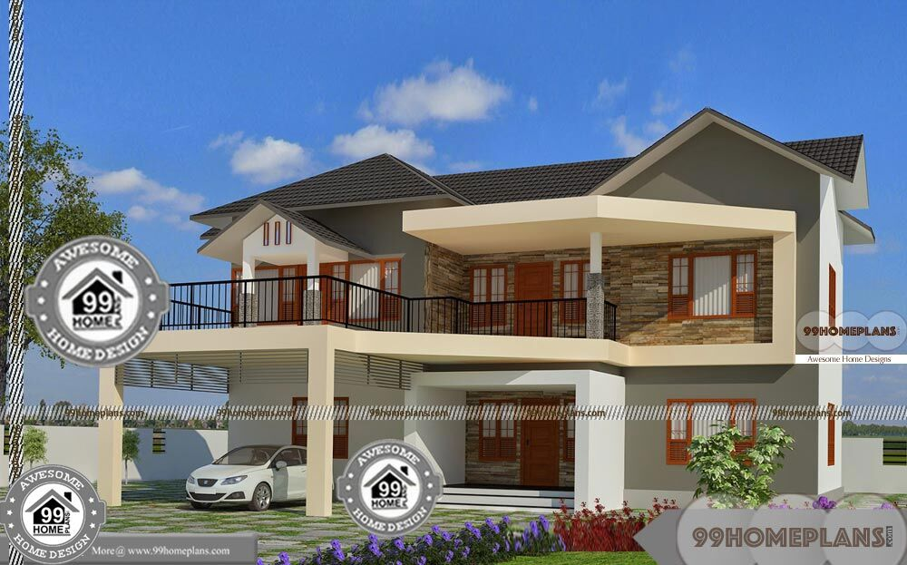 House Designs Bungalow Style Two Floor Ultra Modern New