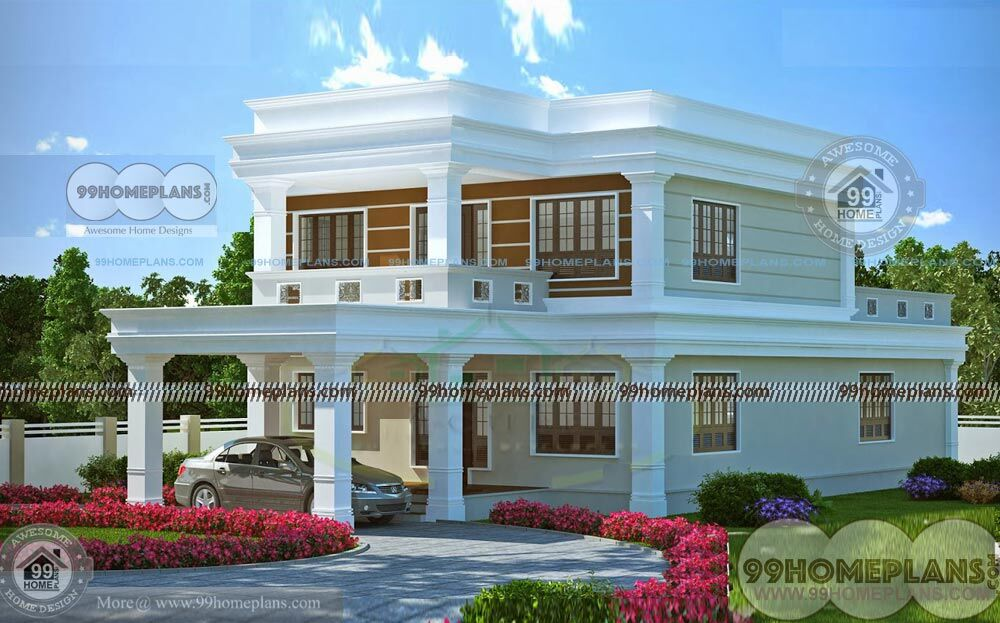 Low Cost Two Storey House Design: House Inner Design With Exclusive Modern Low Cost Two