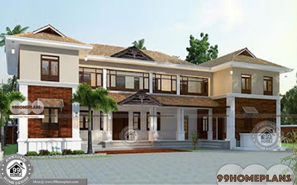 House Plans By Architects with Two Floor Affordable Villa Plans & Designs