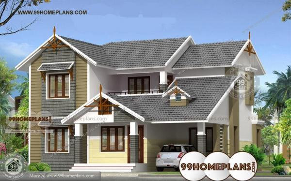 indian bungalow designs and plans with home elevation with 2 story idea - Elevation Of Bungalow