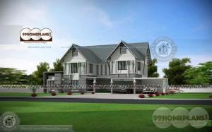 Indian Home Layout Plans with House Elevations Big Double Story Villas