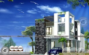 Indian Small House Plans with Ultra Modern Attractive Home Plan Designs