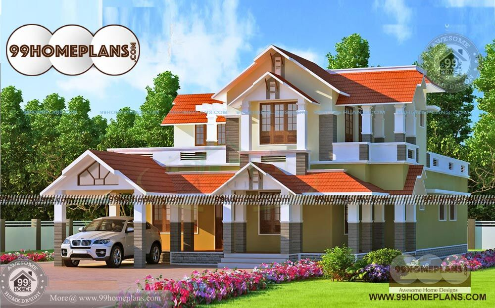 Kerala Luxury Home Designs Decorating Furnishing Front Elevation Plans