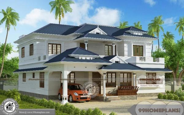 Kerala model house plans with elevation with modern new for Latest model home design