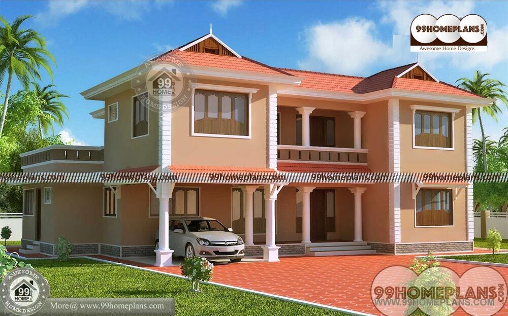 Large House Plans With Double Story Pakistani Home Design