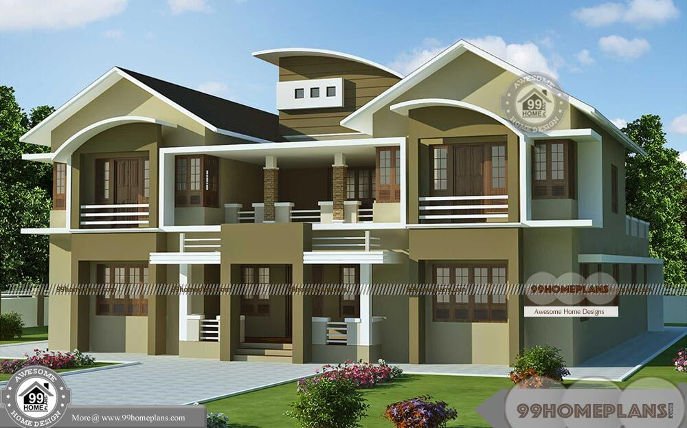 Latest double storey homes plans with quality offering for Quality home design