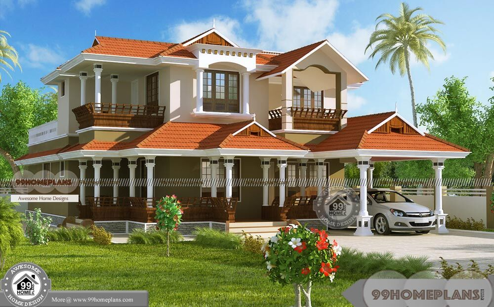 Latest Model House Plans In Kerala with Traditional Plans ...