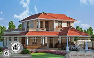 Latest Two Storey House Design with More Ethnic Touch Home Collections