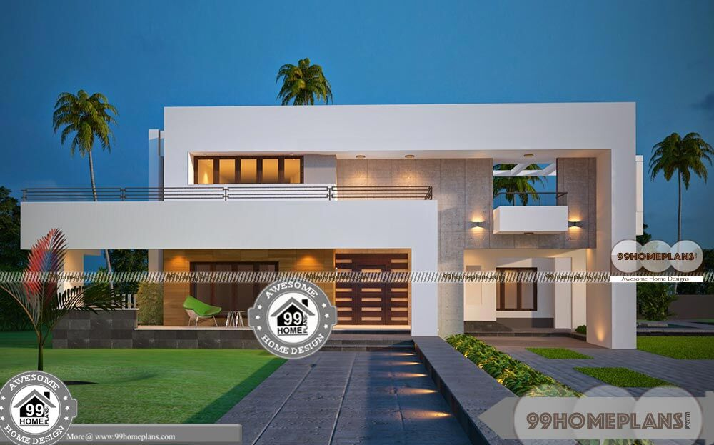 Luxury Southern Home Plans Two Floor Modern Awesome