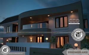 Mansions Plans & Designs Two Floor Ultra Modern Central Home Designs