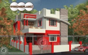 Most Beautiful House Plans Indian Style First Class 2 Floor Low Cost Ideas