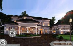 Multi Family House Plans Double Floor 6 Bedroom Bungalow Designs Free
