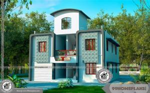 Narrow Site House Design with New Small Classic Simple Home Collection