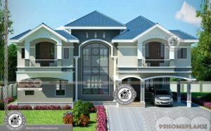 New 2 Storey Home Designs Classic Styles of Floor Plan Ideas and Design