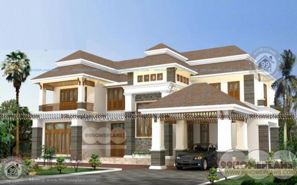 New model house plan layout in tamilnadu style two stored for Tamilnadu house models