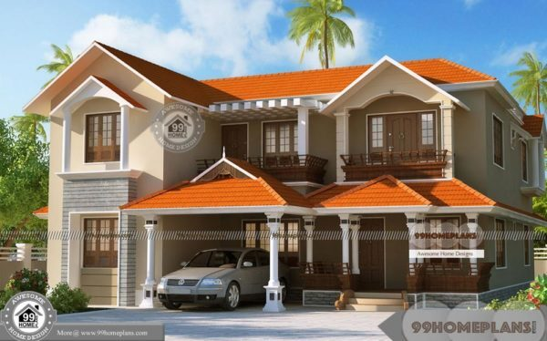 New Model Kerala Style Houses with Dream Home Estimate Plan, Designs