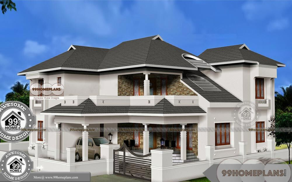 Nigeria House Plan Design Styles Double Floor Residential