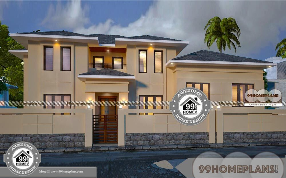 Old Fashioned Home Plans Double Floor Medium Level House